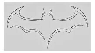 Batman Logo Drawing In...