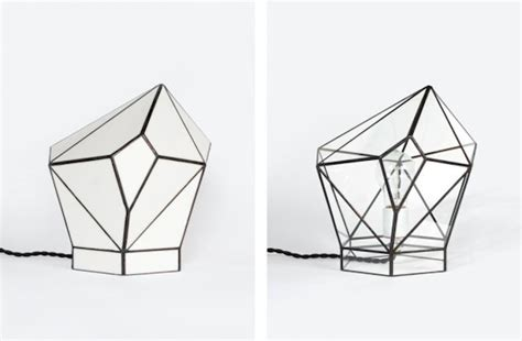 Geometric Glass Terrariums And Lamps