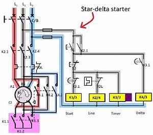 Direct Online  Dol  Star Delta Starter Connection