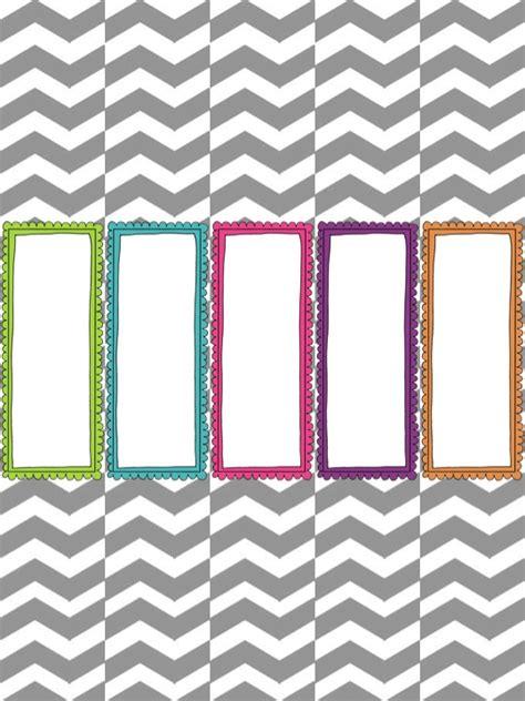 binder spine template make it look organizational freebie speechy musings