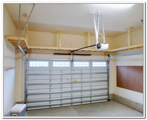 smart solutions for your home suspended overhead garage storage plans pinteres