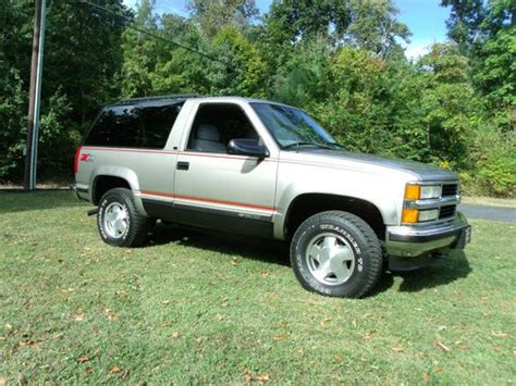 used table ls for sale sell used 1999 chevy tahoe ls 2 door blazer 4x4 really