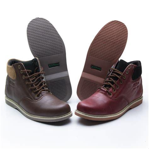 jual boot pria casual sepatu boots kulit boot