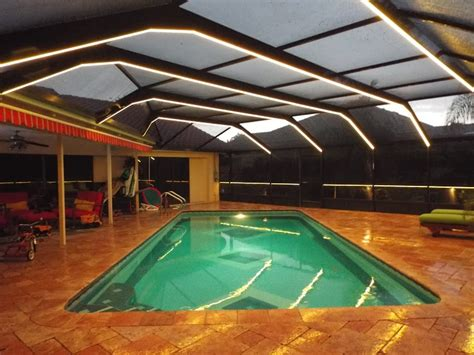pool enclosure lighting ocala marion county screen enclosures glass rooms and