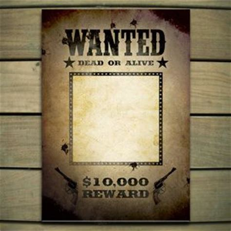 wanted poster template holidays pinterest poster
