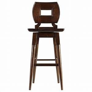 Stanley Furniture Artisan Wood Bar Stool in Barrel - 135-11-73