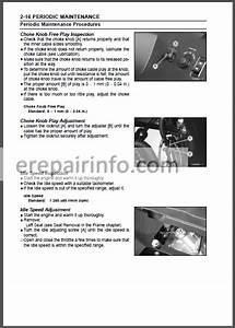 Kawasaki Teryx 750 4 U00d74 Service Manual Atv  U2013 Erepairinfo Com