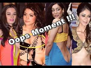 OMG !!! Most Embarrassing & Oops Moment Video of Bollywood ...