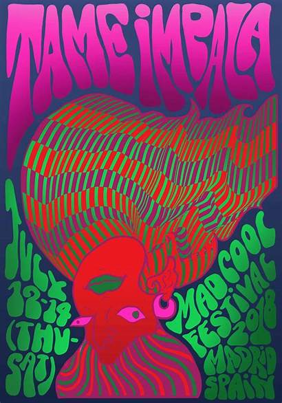 Psychedelic Posters Contemporary Sva Manchanda Noora