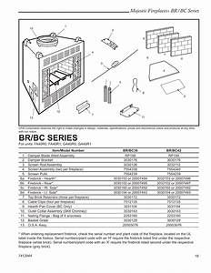 Majestic Fireplaces  Br  Bc Series