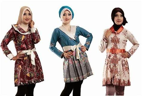 model baju batik wanita  kerja