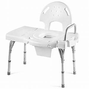 Heavy Duty Tub Bench With Commode Cut Out Supports Up To