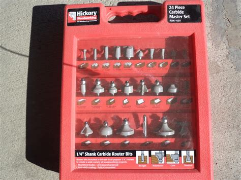 carbide router bits  pc set  east regina regina