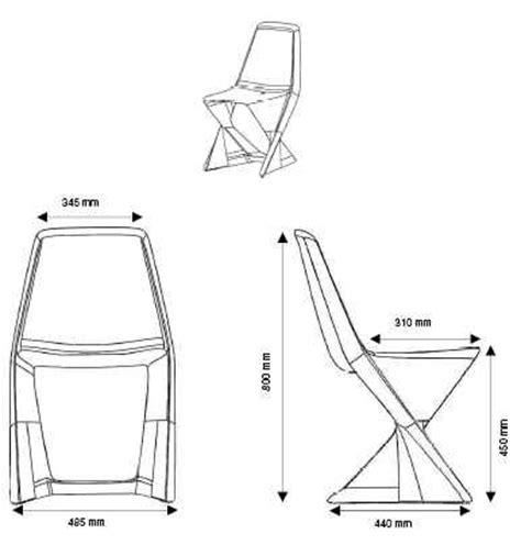 hauteur d une chaise hauteur chaise classique