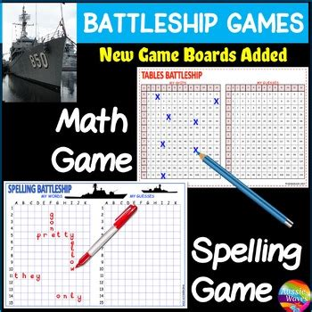 battleship printable game boards learn spelling times