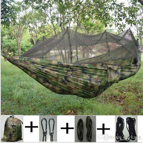 Camo Banana Hammock by Portable Parachute Fabric Person Cing Camo