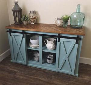 3981 best blue turquoise images on pinterest With buffet table with sliding doors