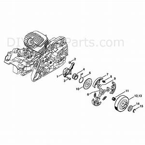 Stihl Ms 271 Chainsaw  Ms271  Parts Diagram  Oil Pump