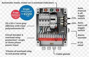 Single Phase Submersible Pump Panel Wiring Diagram