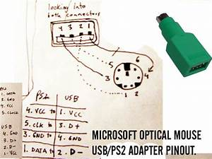 Wiring Diagram Usb To Ps2