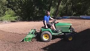 John Deere 455 Diesel Mit Bodenfr U00e4se 450 Tiller Garten