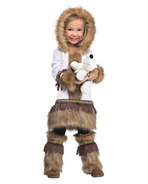 eskimo kostüm kinder eskimo kleinkinderkost 252 m f 252 r den kinderfasching horror