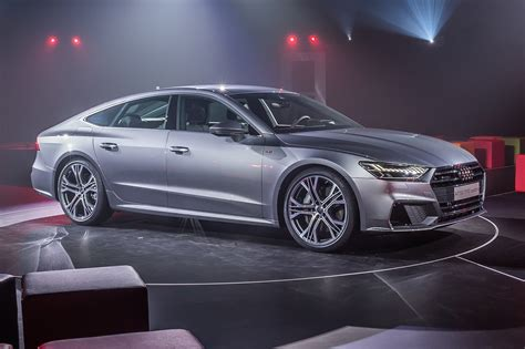 first look 2018 audi a7 the a8 s sleek and sporty new