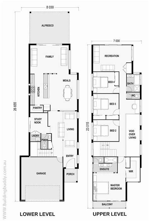 awesome narrow lot house plans narrow lot house plans elegant saltbox house plans unique narr
