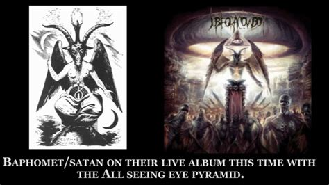 Illuminati Band Exposing Metal Bands Satanic Illuminati Part 2
