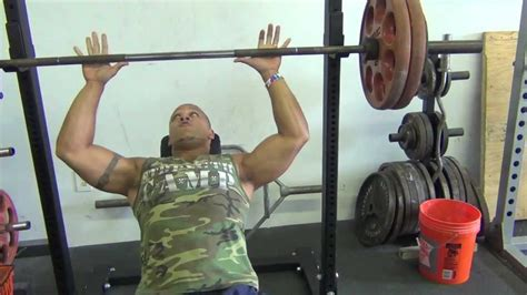 Heavy Bench Press by Heavy Incline Bench Press Workout 5 X 2