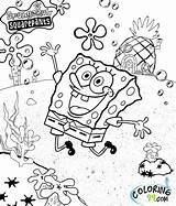 Spongebob Coloring Pages Squarepants Patrick sketch template