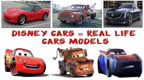 disney cars real life car brands models episode
