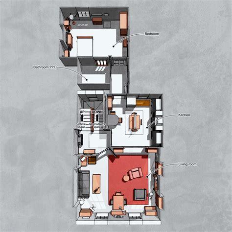 sherlock 221b baker street bbc flat floor plan london layout holmes plans tv apartment sims map bedroom room sherlockology john