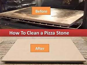 How To Clean A Pizza Stone- Cleaning Your Stone By Hand ...