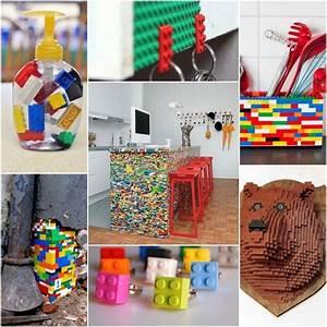 Diy Deco Recup : inspirations diy avec des lego pinterest le coup de ~ Dallasstarsshop.com Idées de Décoration