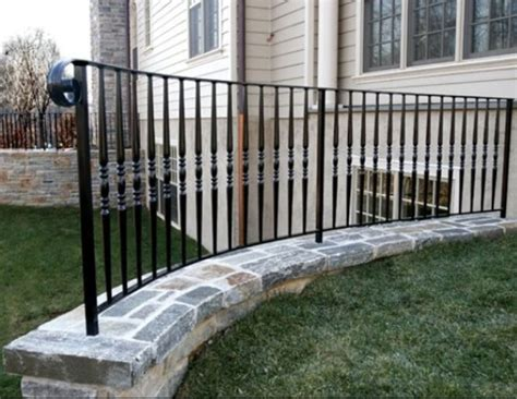 wrought iron railings outdoor outdoor railings wrought iron works