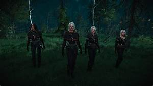 Give Ciri A Black Outfit In Witcher 3 TechJeep