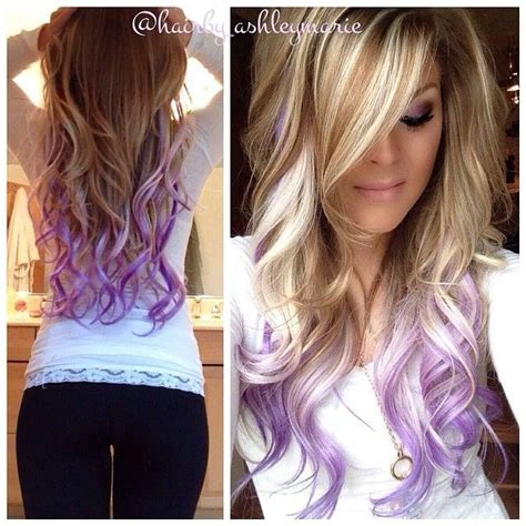 Best 25 Dyed Hair Ends Ideas On Pinterest Colored Hair