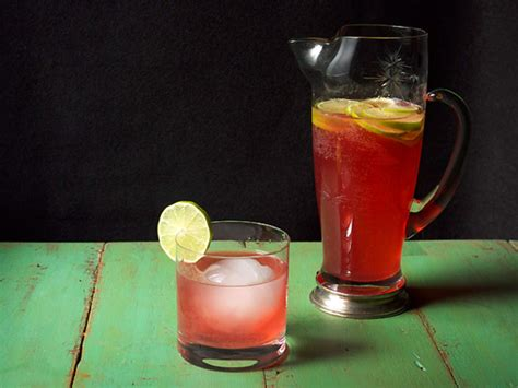 tequila drink hibiscus tequila cooler recipe serious eats