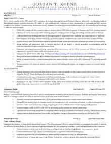 areas of interest in resume exle koene resume