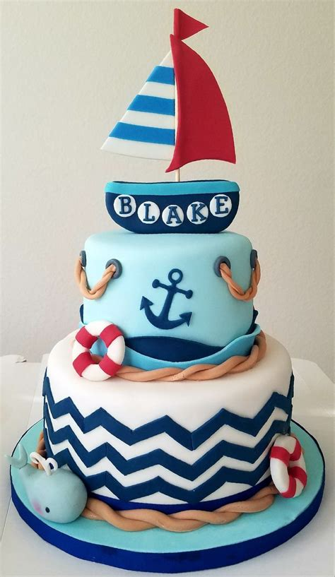 Nautical Baby Shower - 25 best ideas about nautical baby shower cakes on
