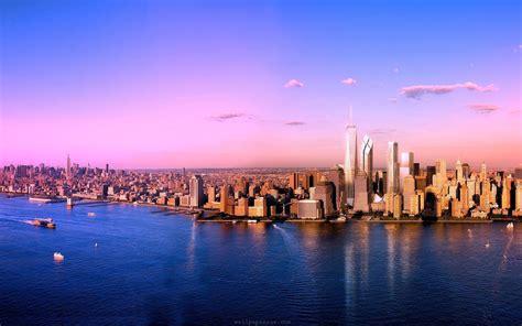 york skyline wallpaper wallpapersafari