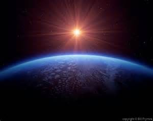 Sun and Earth From Space