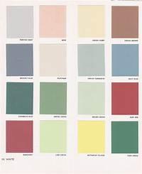 painting color schemes Vintage Goodness 1.0: Vintage Decorating - 1950's Paint ...