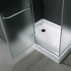 36 x 42 shower pan vigo frameless frosted glass shower enclosure with left 7339