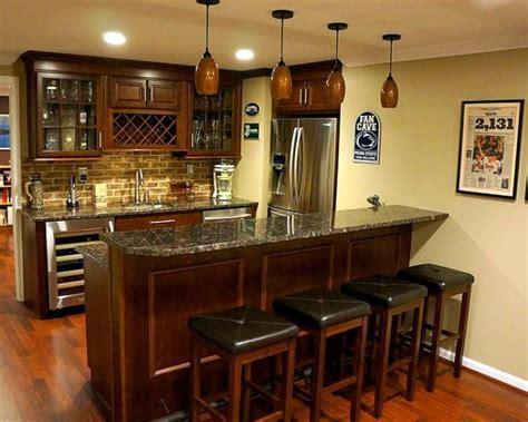 basement bar area  seating angies list