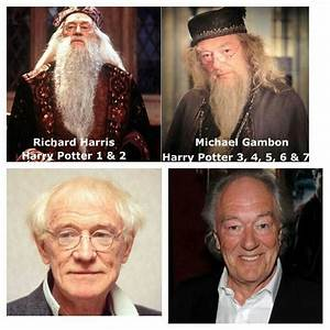 Richard Harris Dumbledore Vs Michael Gambon | www.pixshark ...