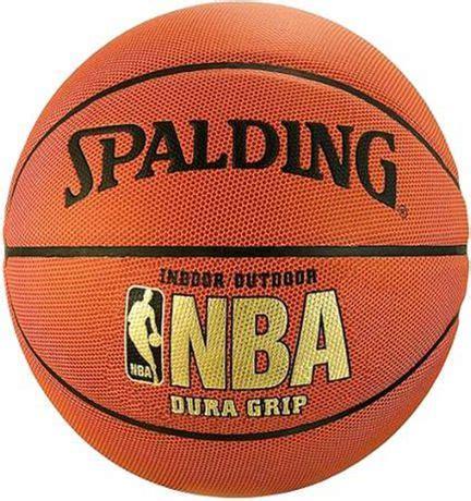 ballon de basket ball en composite spalding nba dura grip