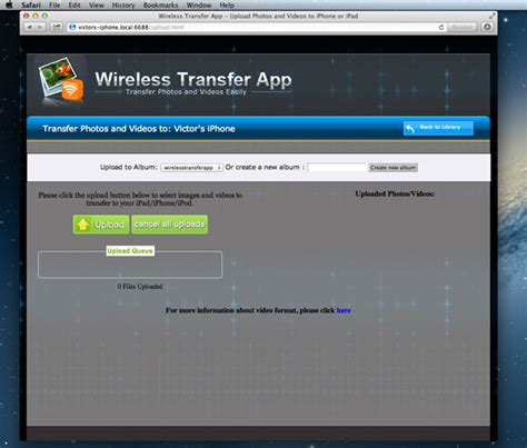 upload to iphone how to transfer photos from mac to iphone with and without