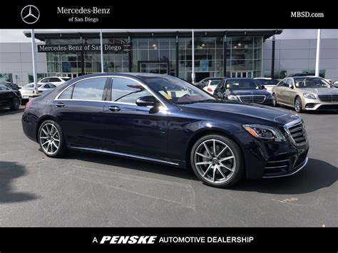 Mercedes S Class Photo by 2019 New Mercedes S Class S 450 4matic Sedan For Sale